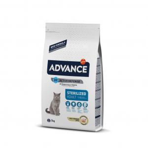 Advance Hindili Kısır Yetişkin Kedi Maması 3 kg (Advance Sterilized Turkey)