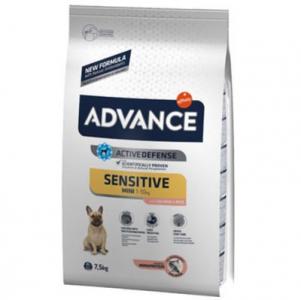 Advance Mini Sensitive Somonlu Küçük Irk Köpek Maması 7,5 Kg