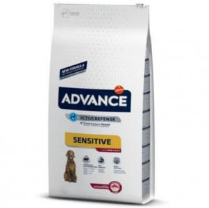 Advance Sensitive Lamb Kuzu Etli Köpek Maması 3 Kg