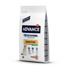 Advance Somonlu Sensitive Kısır Yetişkin Kedi Maması 1.5 kg (Advance Sterilized Salmon Sensitive)